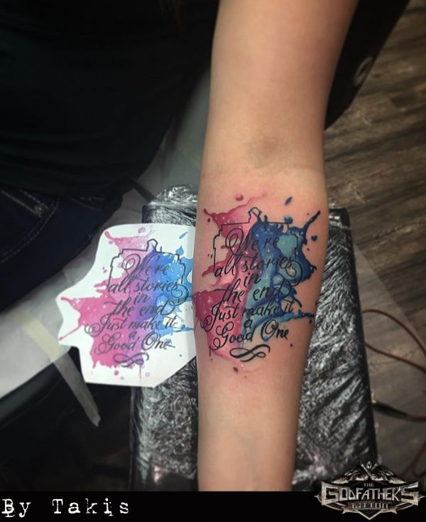 Watercoloraquarell Gallery Of Our Tattoos In Watercolor